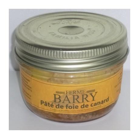Bocal pâté de foie de canard