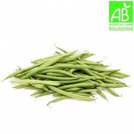 Haricots verts/violets Bio (500g)