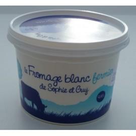 Fromage Blanc fermier au lait demi-écrémé (500 g)