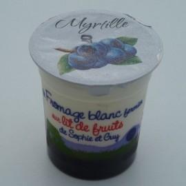 Fromage Blanc sur lit de myrtille (125 g)