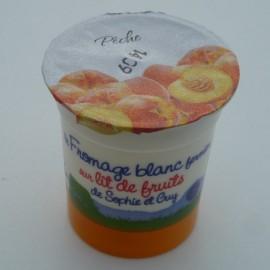 Fromage Blanc sur lit de pêche (125 g)