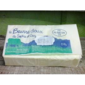 Beurre doux (250 g)