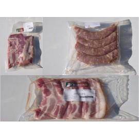 Pack Grillade Porc (saucisses, ventrèches, coustou, chipolatas)