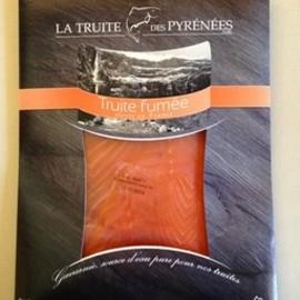 Filet de truite fumée (paquet de 180g)