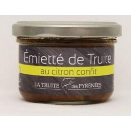 Emietté de truite au citron confit (pot de 90g)