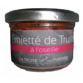 Emietté de truite à l'oseille (pot de 90g)