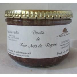 Boudin Porc Noir de Bigorre en verrine (180g)