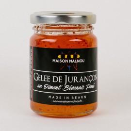 Gelée de Jurançon au Piment Béarnais Fumé (110g)
