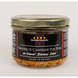 Terrine pur Porc au Piment Béarnais Fumé (180g)