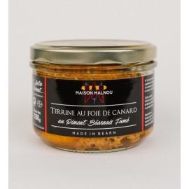 Terrine au Foie au Piment Béarnais Fumé (180g)
