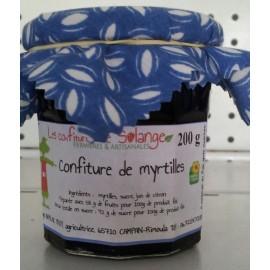Confiture Myrtilles Bio (200 g)