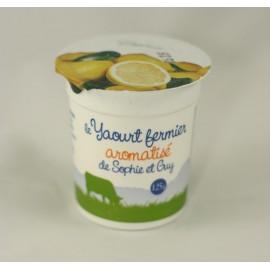 Yaourt citron (125 g)