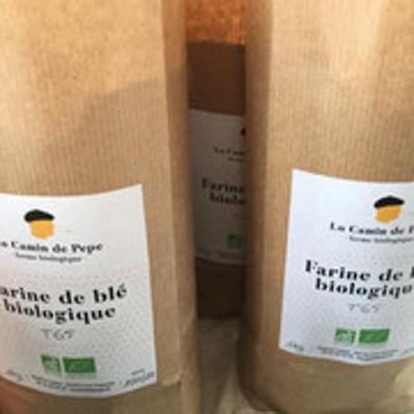 Farine de Blé Bio T65 (1 kg)