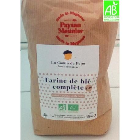 Farine de Blé Bio T110 (1 kg)