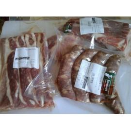 Pack Grillade Porc (chipolatas , chistora, ventrèches)