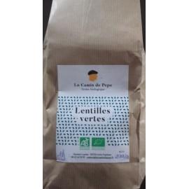 Lentilles Vertes Bio (1 kg)