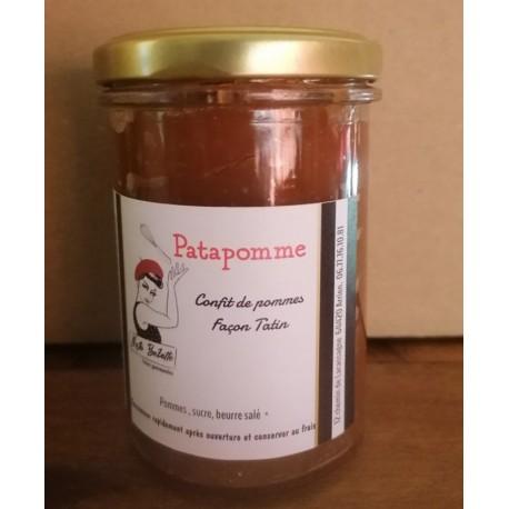 Patapomme (confit de pomme façon tatin) pot de 220 g